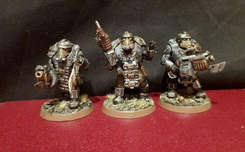 Death Korps of Krieg Bullgryns Ogryns painted pack conversion rare Warhammer 40k