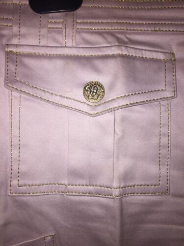 Tg Glicine Pantalone Loghi Oro 44 Versace Strass Meduse zE8fxw1