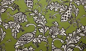 Stout-Bountiful-Leaf-Green-Peacock-Floral-Cotton-Drapery-Fabric-by-the-Yard
