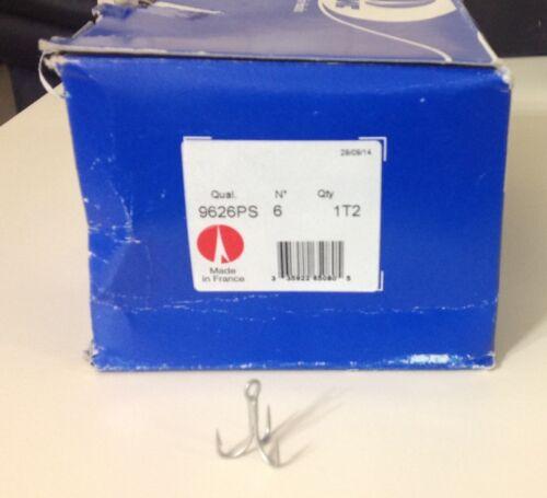 VMC 9626PS Permasteel Forte 4x Treble Hooks 100pk