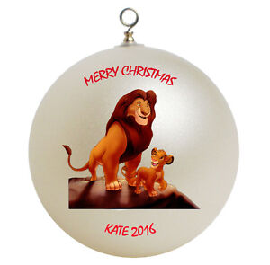 Details About Personalized Lion King Christmas Ornament Gift Add Name