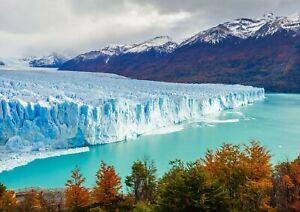 A1-Perito-Moreno-Glacier-Poster-Art-Print-60-x-90cm-180gsm-Argentina-Gift-16392
