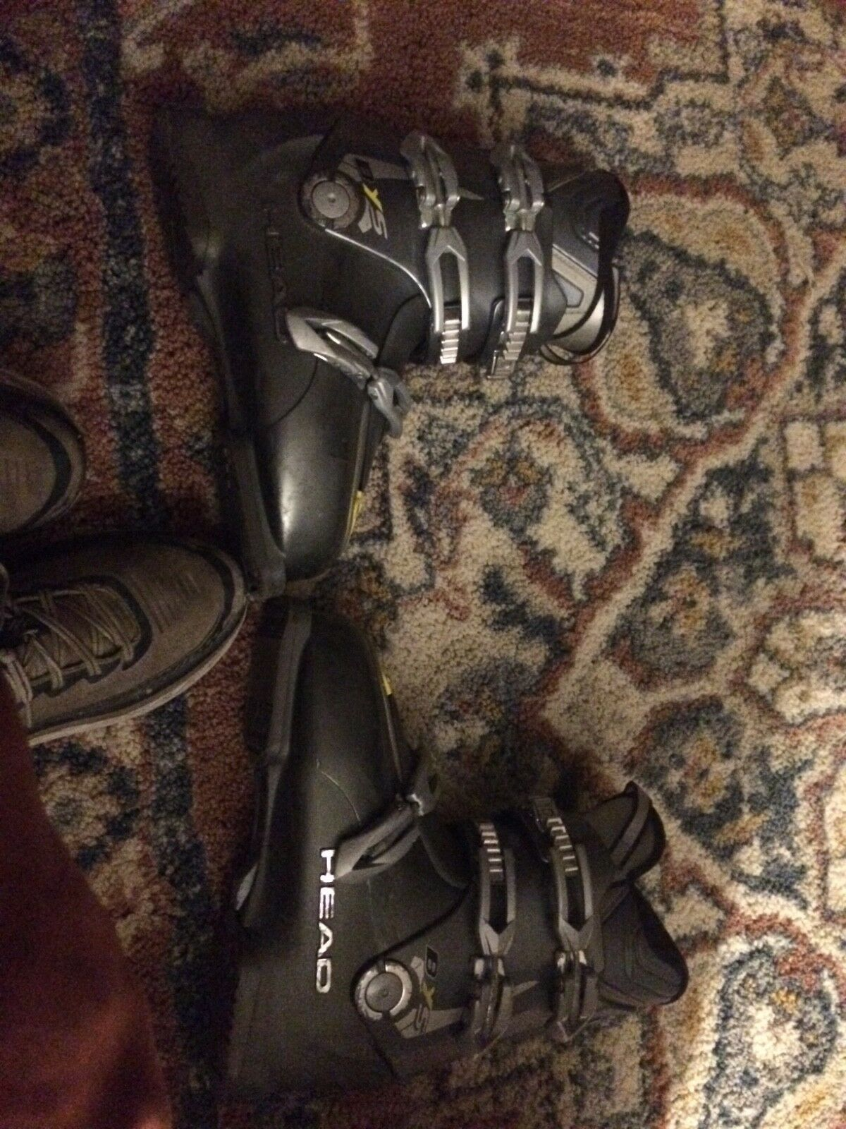 Head bys  ski boots grey size 27.5  comfortable