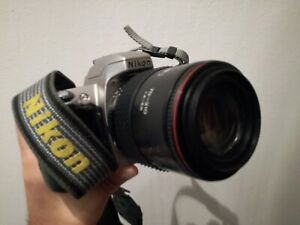 100% Vrai Nikon U Camera Zoom Af Tokina 70 210 1:4-5.6 Macchina Analogic Reflex Construction Robuste