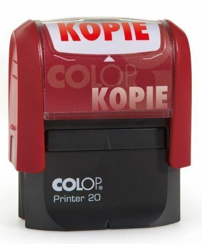 """COLOP Textstempel Printer 20 /""""KOPIE/"""" mit Textplatte Automatikstempel"""