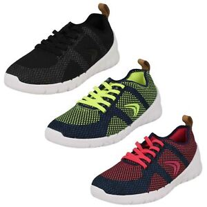 e1fc6cc63bf5f Childrens Sprint Flux Navy Combi Or navy/Raspberry Textile Trainers ...