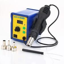 Gaoyue 858D SMD Rework StationHot Air Blower Gun  Includes UK3 Pin Plug Adapter