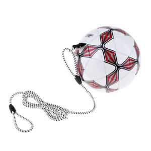 Image Is Loading Soccer Ball Size 4 With Elastic String Outdoor