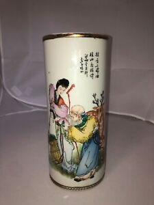 antique-chinese-porcelain-wig-stand-vase-11-034-late-republic-era-China-Art-Deco