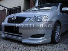 Toyota Corolla E12 Front Bumper spoiler lip Valance addon under bumper splitter