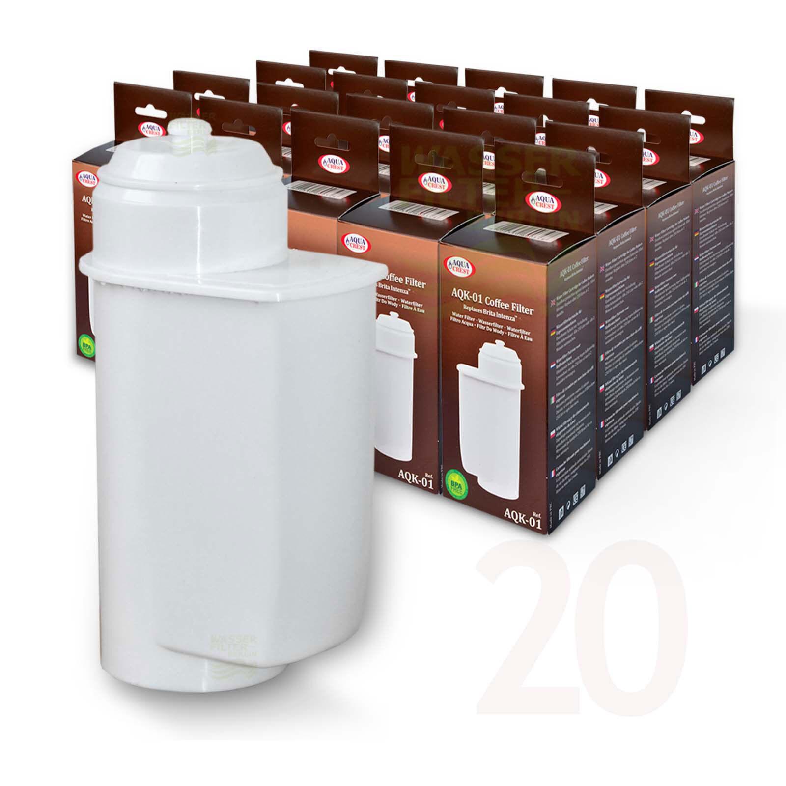 20x BRITA Intenza compatible Filtre à eau pour Bosch vero tca7 tcc7 tcc78 série