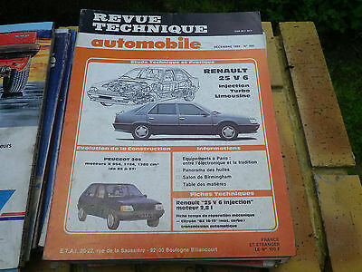 Inteligente Rta 408 Renault 26 V6 Injection - Turbo - Limousine Evolution Peugeot 205