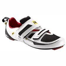 Mavic Tri Race Triathlon Cycling Shoe - White / Black / Red - Euro size 43 1/3
