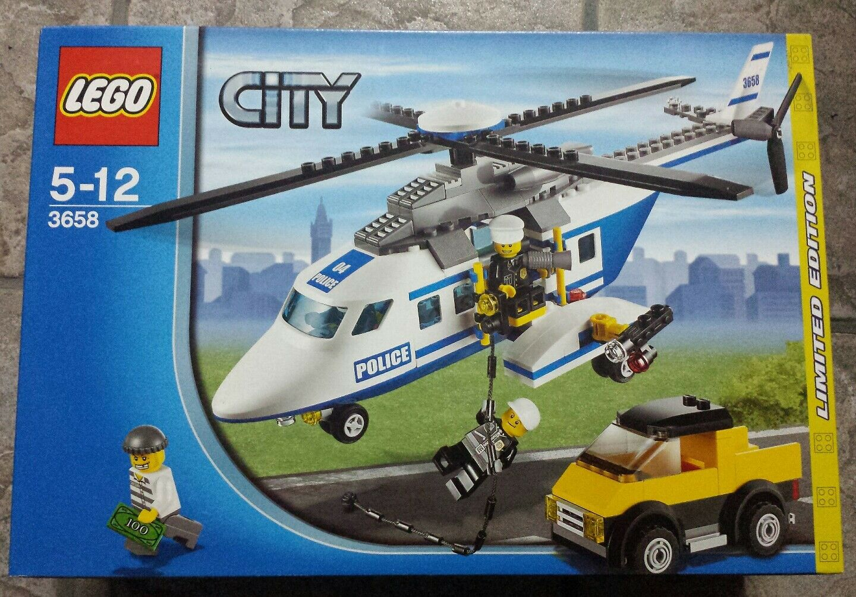 Lego City 3658 Elicottero Polizia