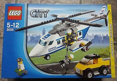 elicottero polizia lego city 3658