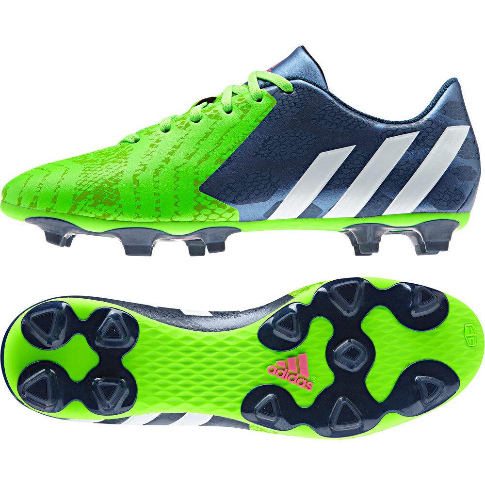 New Mens Adidas Predito Instinct FG Moulded Studs Deigner Football Soccer Boots Brand discount