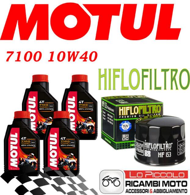 DUCATI Monster IE 900 2000 2002 KIT TAGLIANDO 4 LT MOTUL 7100 10W40 + FILTRO