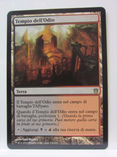EXC ITA BNG Tempio dell/'Odio MTG Temple of Malice Figli degli Dei