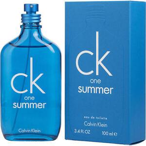 Calvin Klein Ck One Summer 2018 Eau De Toilette Unisex 100 Ml N370550 US 8f94a2a48c