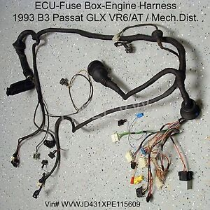 Engine Vr6 Harness Diagram - Wiring Diagram Online