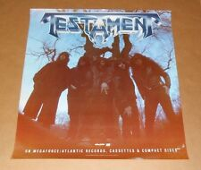 Testament 1988 Promo Original Poster 25 x 27 RARE and Awesome!