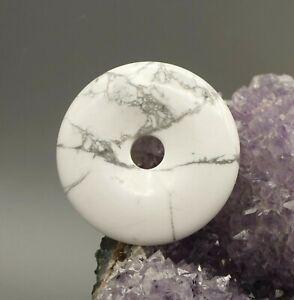 Magnesita-Colgante-Donut-50mm-Pi-Scheibe-Calidad-a-de-Piedras-Preciosas-e3