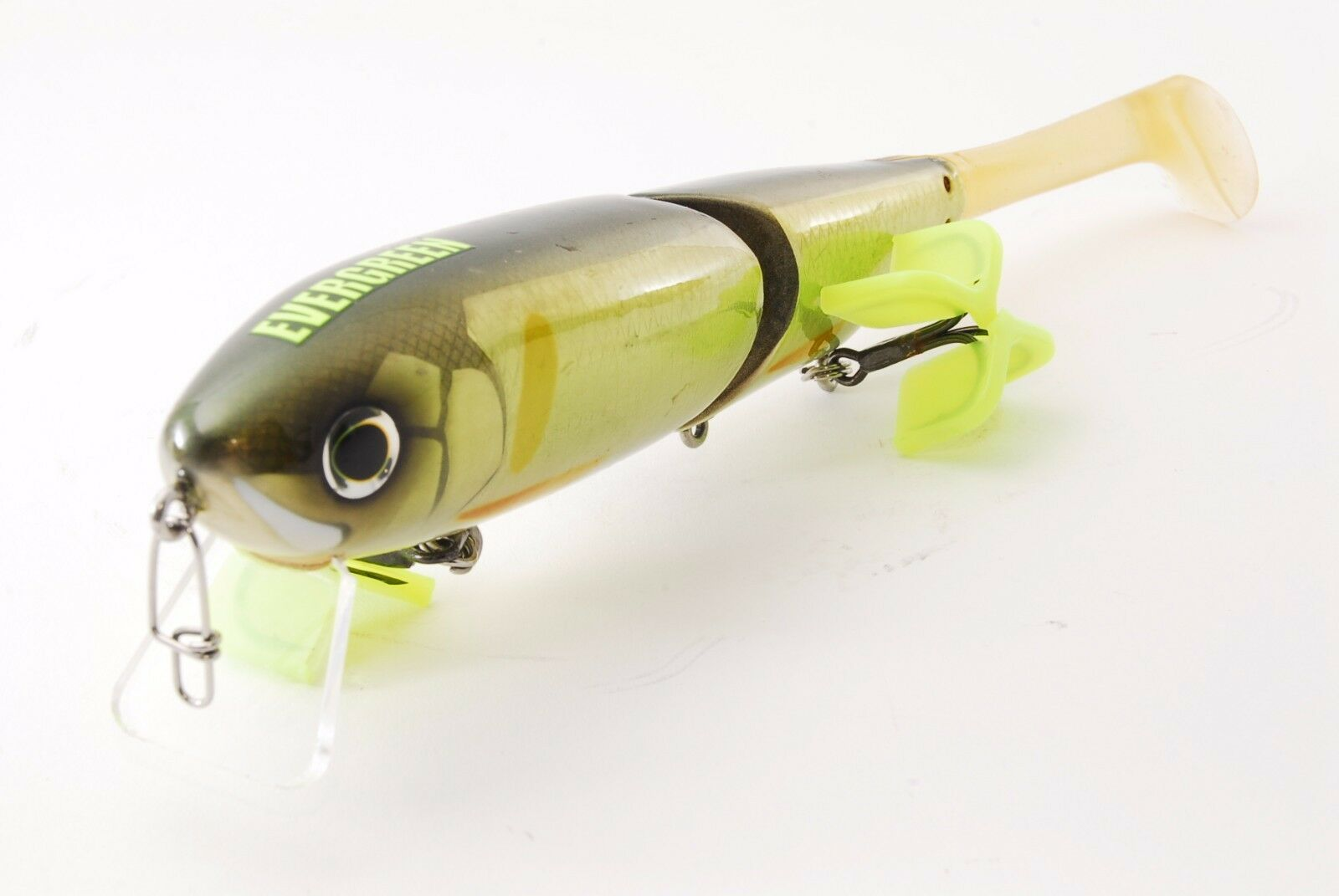 Evergeen  TIMBER FLASH   Combat Lures 23cm, 3oz  Ayu   Used in Japan