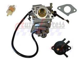 s l300 carburetor carb for honda w fuel pump filter gx620 gx610 mower gas  at panicattacktreatment.co
