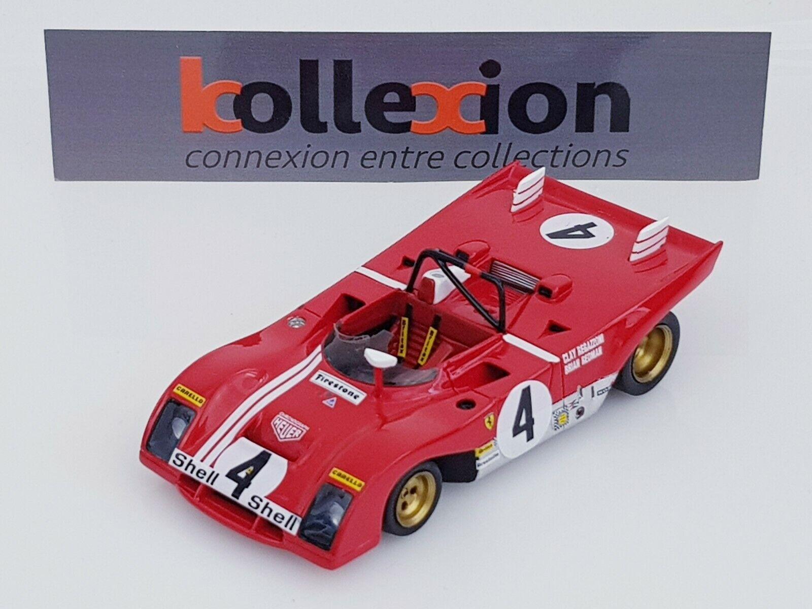 rouge LINE RL126 FERRARI 312 PB n°4 Daytona 1972 Regazzoni - rougeman 1.43 NB