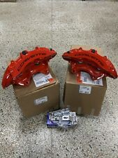 New Gm 2015 19 Chevy Corvette Z06 Front Red Brembo 6 Piston Calipers Pin Kit