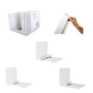 DIN A4 weiß Farbe 2-Ring Ordner 10x Ringbuch