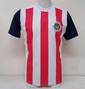 b4f5c7871 Image is loading Chivas-del-Guadalajara-Pink-White-Men-Home-Soccer-