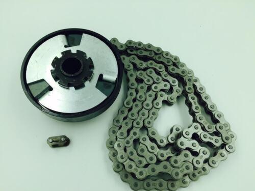 "3//4/"" Bore Go kart Mini Bike Centrifugal Clutch 10 Tooth #420 Chain"