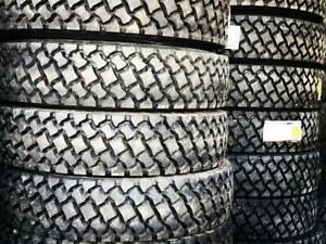 LONGMARCH TIRE DISTRIBUTORS - DRIVE /TRAILER / STEER TIRES - 11r22.5 11r24.5  Every Size: 215 75 17.5 and up Greater Vancouver Area Preview