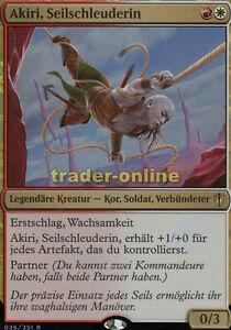Akiri, seilschleuderin (akiri, line-Slinger) comandante 2016 Magic  </span>