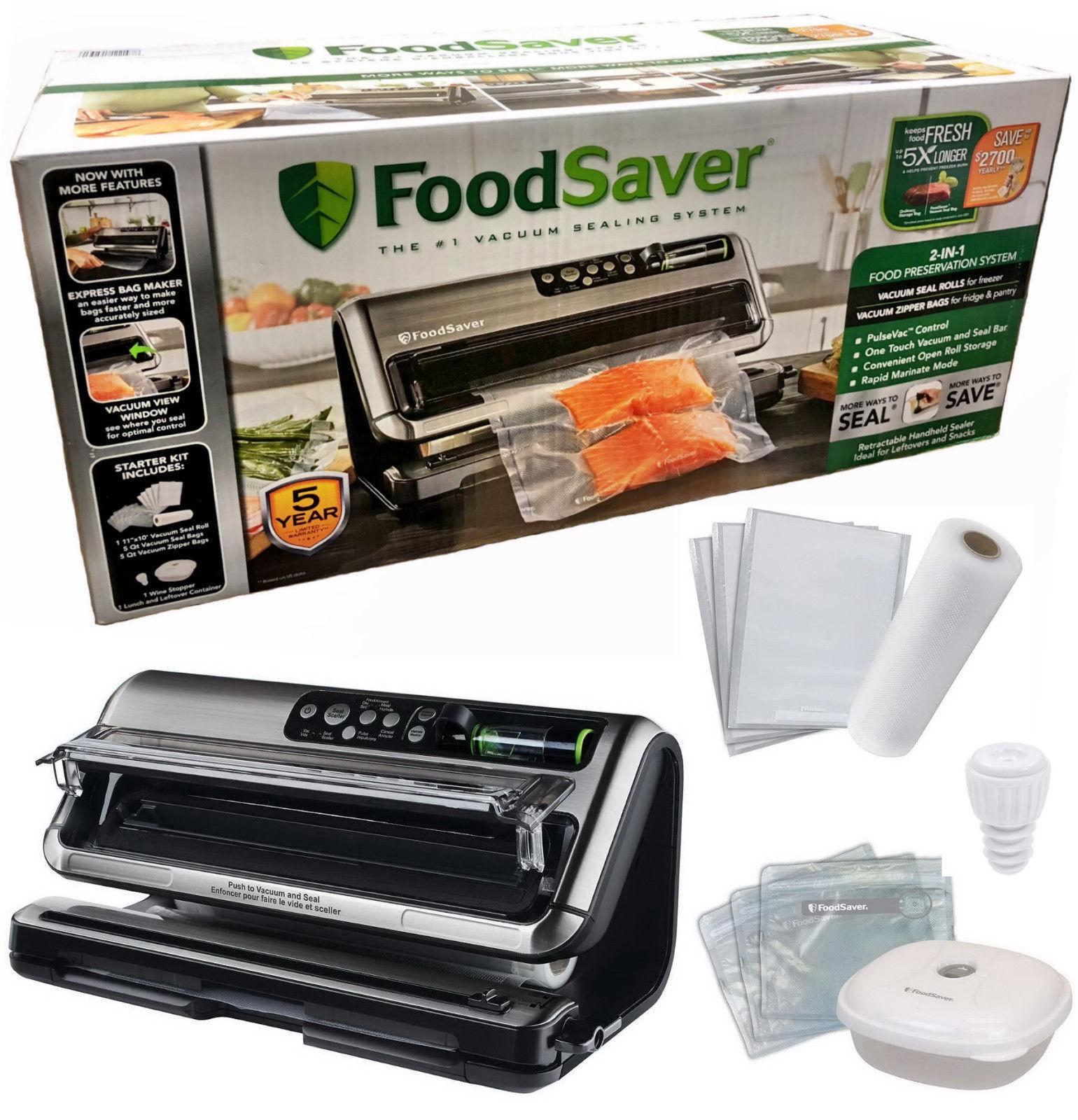 FoodSaver 5400 série 1 en 2-scelleuse sous vide Set avec Express Sac Maker Starter Kit