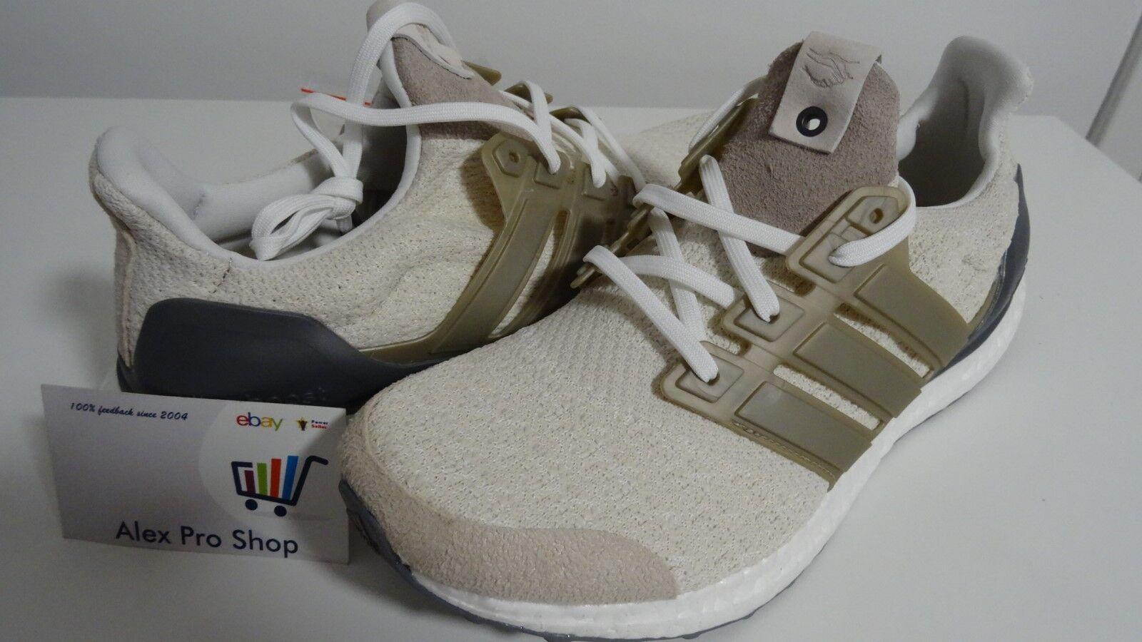 New Men's Size 8.5 Adidas UltraBOOST Lux Sneakersnstuff x Social Status DB0338