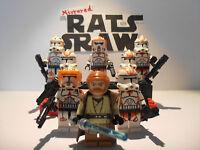 Lego Star Wars minifigure Trooper - Clone Custom General Kenobi's 212th