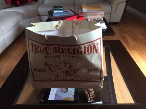 True Religion Advertise Shopping Paper Bag Pre Own