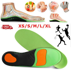 Orthotic-Insoles-Insert-Flat-Foot-Plantar-Fasciitis-Arch-Support-Pad-Pain-Relief