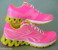 NEW~Reebok GIRLS ZIG KICK TECH RIDE Running nano Trainers Shoe gym~YOUTHS size 1