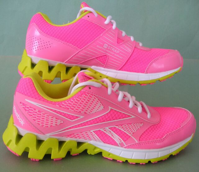 NEW~Reebok GIRLS ZIG KICK TECH RIDE Running nano Trainers Shoes~TODDLERS sz  11.5 281222e7c