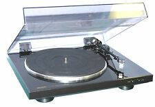 NEW DENON DP300F FULL AUTOMATIC TURNTABLE BELT DRIVE TURNTABLE WITH FREE HUMAN