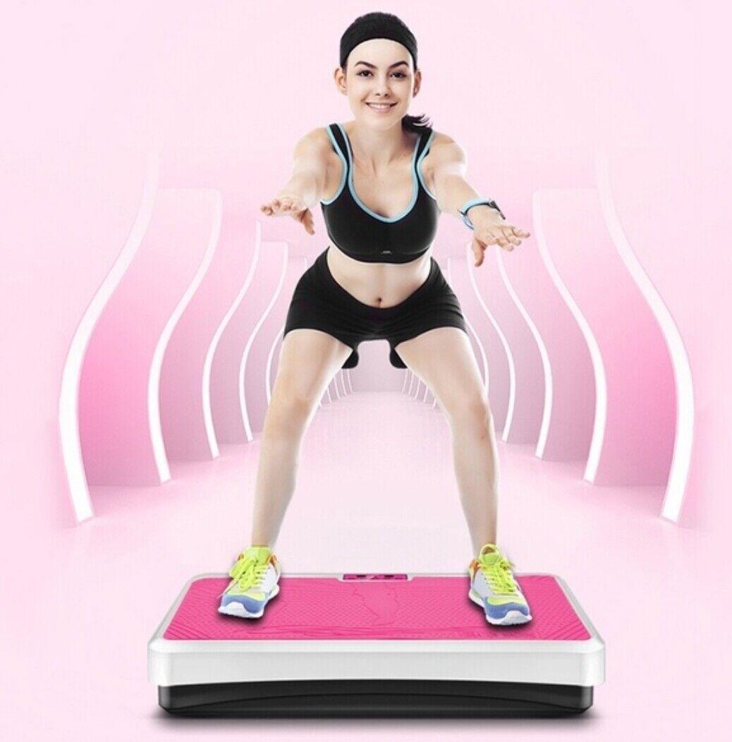 200w Vibrador plataforma plastificadora masaje gimnasia