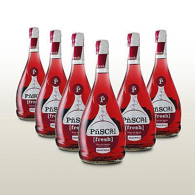 6 Fl. Penascal Rosado, Frizzante, Rose Perlwein, prickelnder Wein aus Spanien!