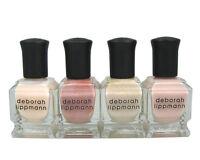 Deborah Lippmann Nail Polish (4 Bottle Bundle)