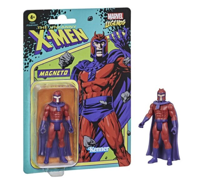 Marvel Legends Retro 375 Collection Unpunched X-Men MAGNETO 3.75 in Figure
