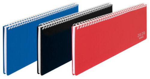 herlitz Tischkalender Folie 313 x 115 mm 2020 zufällige Farbe 1 Stück