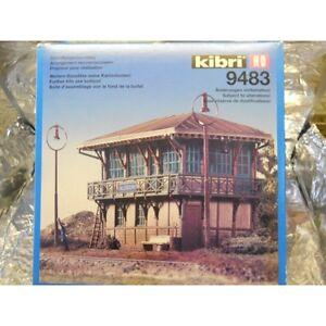 Kibri-9483-Signal-Box-Allendorf-Kit-1-87-H0-Scale