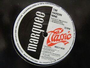 TIM-HARDIN-034-Nine-034-Vinyl-LP-Marquee-Classic-Records-MQCLP-003-No-Cover